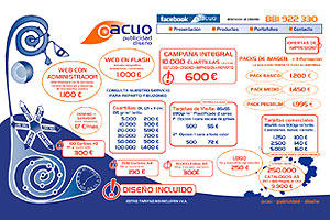 Acuo. Publicidad - Diseño