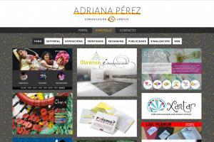 Adriana Pérez: Comunicación Gráfica