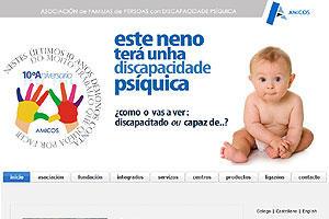 AMICOS, Asociación de familias de persoas con discapacidade psíquica