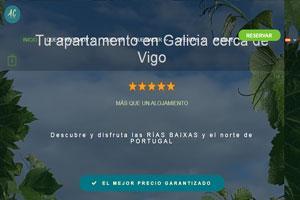 Apartamento vacacional en Galicia - A Coastine