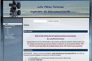 Julio Pérez Formoso Ingeniero de Telecomunicación