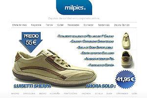Milpies Zapatería Online