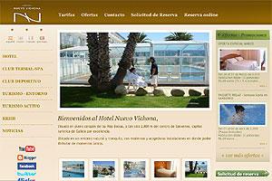 Hotel Nuevo Vichona en Sanxenxo