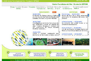 Centro tecnolóxido do mar - Fundación Cetmar