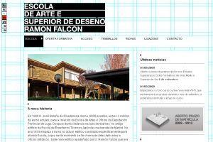 Escola de arte Ramón Falcón