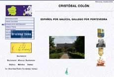 Cristobal Colon, galego