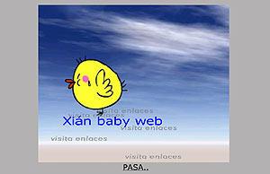 Xián Baby Web