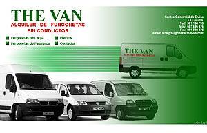 Alquiler The Van
