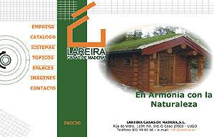 Lareira Casas de Madera