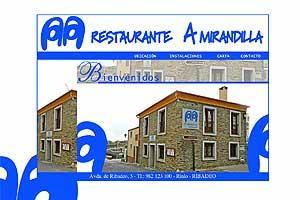 Restaurante a Mirandilla
