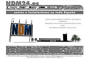 NDM Rotulación Diseño Gráfico 3D