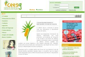 Colexio de Educadoras e Educadores Sociais de Galicia. CEESG