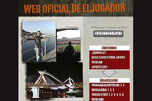 Web Oficial de Eljugador